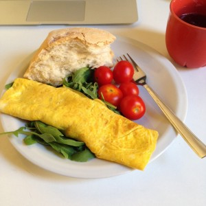 French omelettes in Italy? You wouldn't...