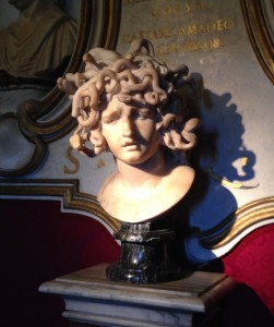 THIS STATUE, Bernini's Medusa, looks a lot like someone I know. I won't say who though, so that everyone who reads this can wonder if it's them. That oughtta be fun, right?